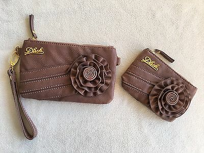 D'lish Clutch / Wallet Bag and Coin Purse - Ladies Womens