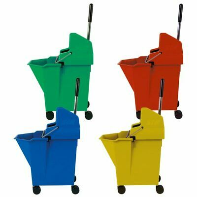 Kentucky Mop Bucket and Wringer, SYR Ladybug 15 litre 4 Colours