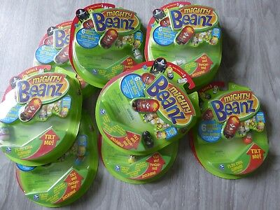 Mighty Beanz Series 8 Assorted packs with 6 Beanz - please choose from selection