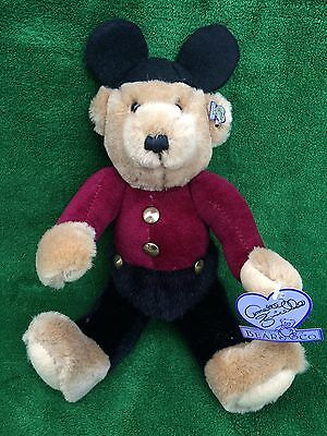 Annette Funicello Collectible Bear Co. MOUSEKEBEAR (Boy) Mickey Mouse Bear