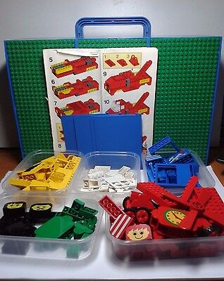 Lego 4145 FREESTYLE PLAYCASE bricks complete, playcase different, instructions