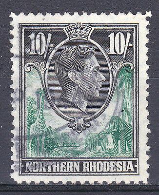 Northern Rhodesia-1938/52. 10/- SG44. Fine used.