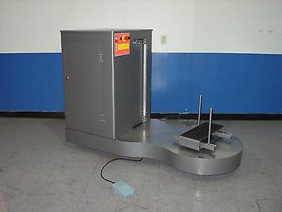 Batteries Operated, Airport Baggage Luggage Wrapping Machine Orionpp Canada