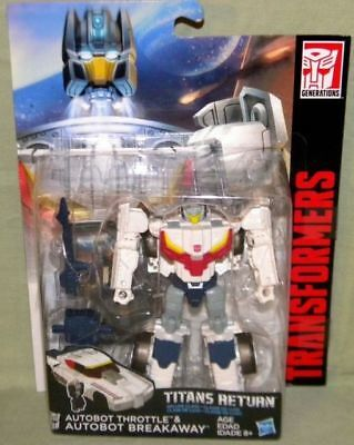 Transformers Generations Titans Return 2016 Deluxe Class Grey in stock