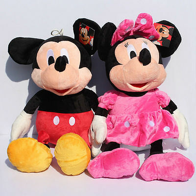 Peluche 25-30Cm Minnie Mickey Mouse Disney Peppa Pig Minions Cars