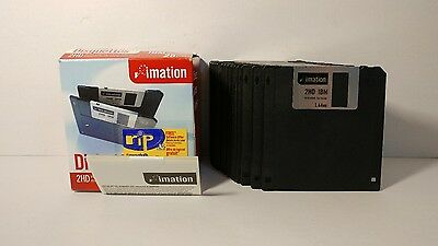 23 double sided density Floppy Diskettes IBM formatted 2HD 1.44MB