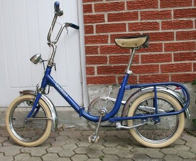 GRAZIELA Folding Bicycle. Collectible.. Vintage