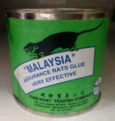 RAT GLUE TRAP MOUSE MICE RODENT PEST CONTROL INSECT STICKY NON-POISONOUS 300gram