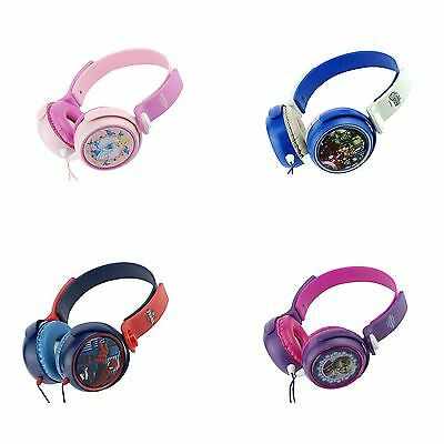 New Disney Princess Frozen Spiderman Headphones Stereo Music Mp3 Ipod Padded EAR