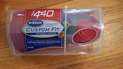 Dr. Scholl's~ CF 410~ Custom Fit Orthotic Inserts~New~Sealed~Free Shipping