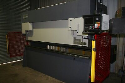 Good used AFM 3m x 150 Ton Press brake with 2 axis Hurco 7 control