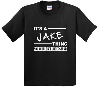New Way 776 - Youth T-Shirt It's A Jake Thing Jake Paul Wouldn't Understand