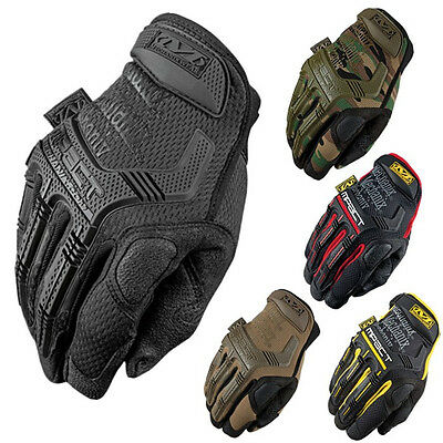 NEW Mechanix Tactical M-PACT Gloves Black Brown Combat Military Airsoft gloves