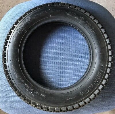 2.50-8 Power Chair Tyre Black