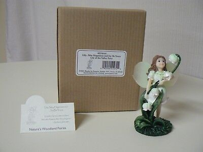 Enesco LILY OF THE VALLEY FAIRY May Happiness Be Yours Natures Woodland 1st Ed