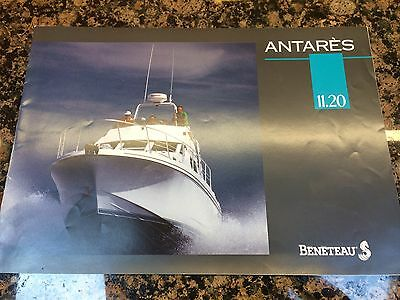 Beneteau Antares 11.20 Brochure Watercraft Power boating Motor Cruiser