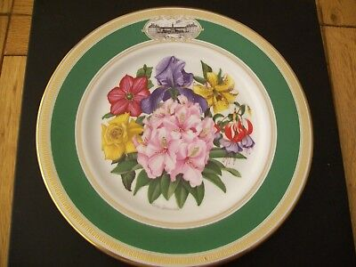 Royal Doulton 1981 Chelsea Flower Show Collector's Plate