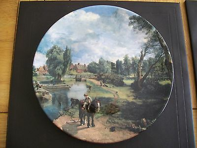 Royal Doulton Collector's Plate - Flatford Mill - Constable