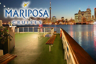 Mariposa Cruises Toronto Harbour Sightseeing Boat Cruise for 2 Adults + 2 Youth