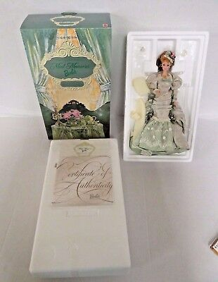"Mattel ""Mint Memories"" Victorian Tea Porcelain Barbie Doll Collection 08921 D548"