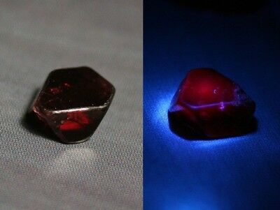 2.42ct Rare Noble Red Spinel Crystal - Specimen / Lapidary Rough