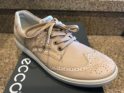 AUTHENTIC Womens ECCO Hybrid Spikeless Golf Shoes 8-8.5