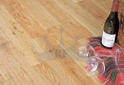Engineered Oak 14mm x 125mm Satin Lacquered Wood Flooring