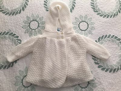 f9bf11b2f33a SMALL CREATIONS LORD   Taylor Hooded Sweater 3-6 Months NWOT ...