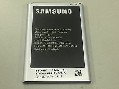 New Original Samsung Galaxy NOTE 3 III Replacement Battery 3200mAh B800BC CANADA