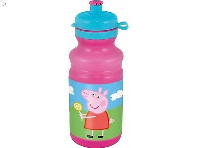 New Peppa Pig Kids Water Drink Lunch Childrens Sports Bottle School