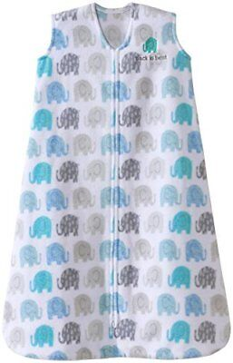 Halo Sleepsack, Micro-fleece, Elephant Texture, Gray, Xlarge