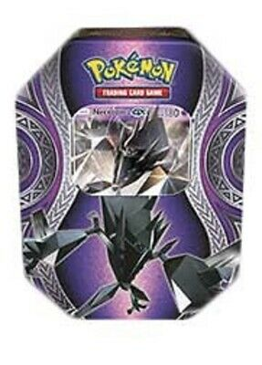 POKEMON -  Mysterious Powers Necrozma-GX Necrozma GX Tin, Foil, 4 Booster Packs
