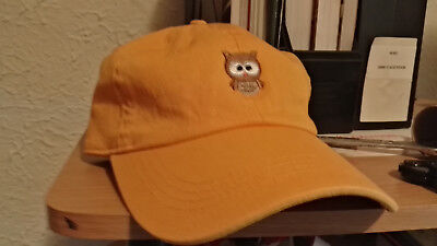 5cafd7be6c7 Owl Emoji Dad Hat Curved Baseball Cap Unstructured Strapback City Hunter  Yellow