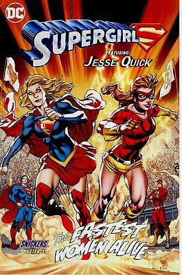 Supergirl Jesse Quick Sdcc Giveaway Promo Fastest Woman Alive Variant Snickers