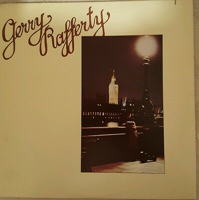 Gerry Rafferty Vinyl Long Play LP Album ..Hard to find.