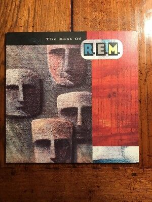 REM: The Best Of...IRS MIRH 1 Vinyl LP The One I Love, Finest Love Song Rock