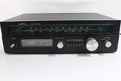 LXI series TR 6002, AM/FM stereo tuner. Tested-working. (ref A 142)