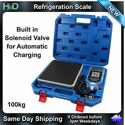 Automatic Refrigeration Charging Scale - 5g Res 100kg Capacity - Carry Case