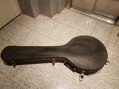 70's GIBSON 5 STRING  BANJO CASE - made in USA