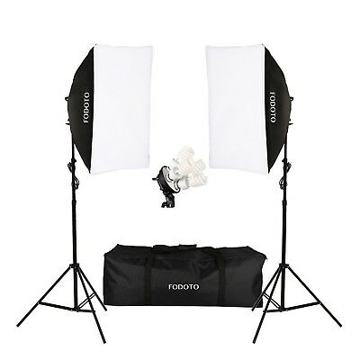 1800w Photo Video Studio Continuous Softbox Lighting Kit (Daylight)