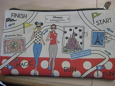 Run Disney Disneyland Paris Barbara Rihl Marathon Race Purse Crossbody Minnie