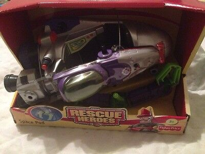 Rescue Heroes Space Pod Exploraton Vehicle FACTORY SEALED!
