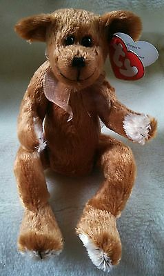 TY Beanie Attic Treasures CARSON Bear NEW Condition Retired