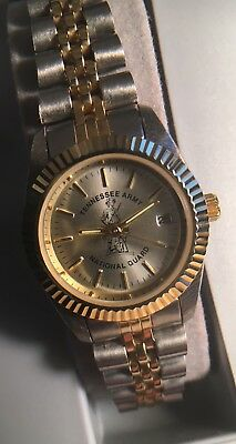Tennessee Army National Guard ladies Rolex style quartz mov watch never worn