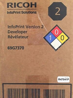 Ricoh InfoPrint Solutions 69G7370 Developer Carton (Box/2)