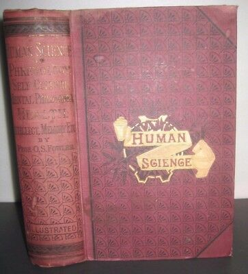 Rare_Over 1,000 Pgs Phrenology_Science_Health Remedies_Indians_Lincoln_Napoleon