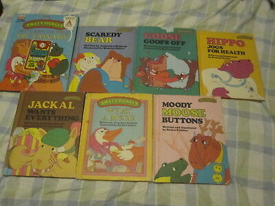 Lot of 7 Vintage Sweet Pickles Books ~ Dictionary, What A Mess + 5