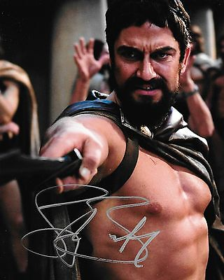 Gerard Butler Autographed 8x10 Photo (Reproduction)