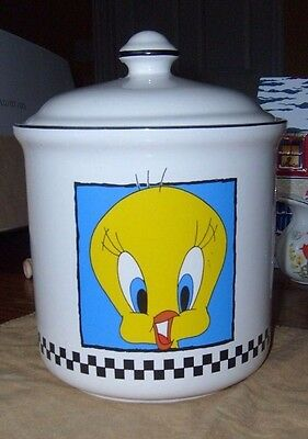 Tweety Bird canister, Warner Brothers, 1993