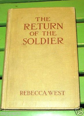(1918) The Return of the Soldier-1st-Rebecca West-WW1 story-first edition hb
